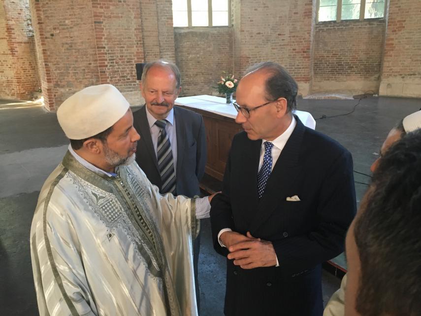 Imam, Pfarrer, Interreligiöser Dialog, Antisemitismus, Islamfeindlichkeit, Terrorgedenken