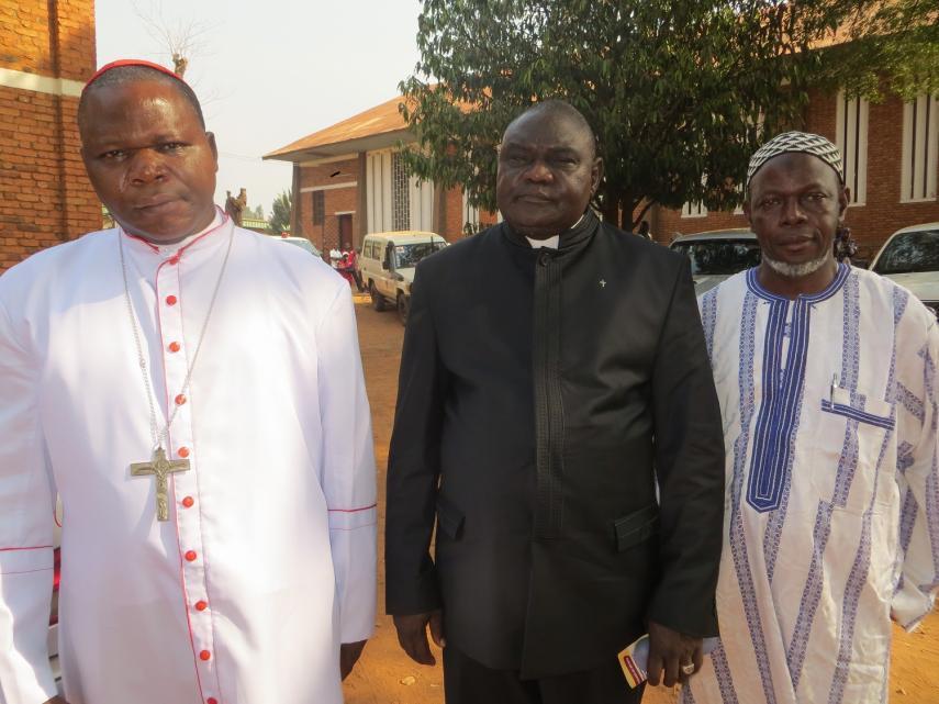Plateforme des confessions religieuses de centrafrique - PCRC