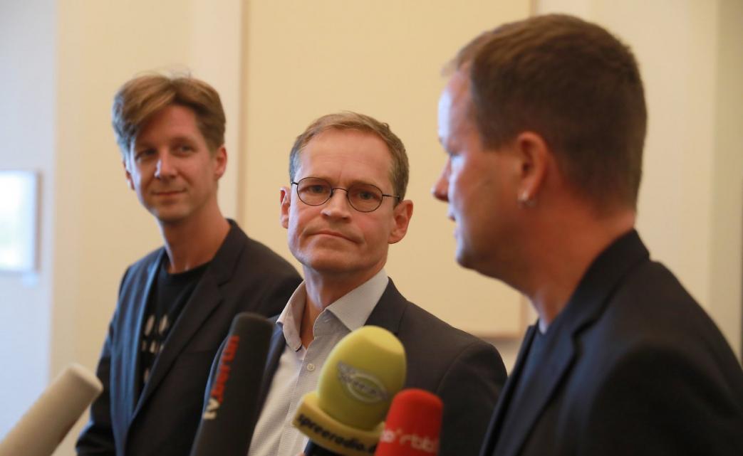 Michael Müller, Klaus Lederer