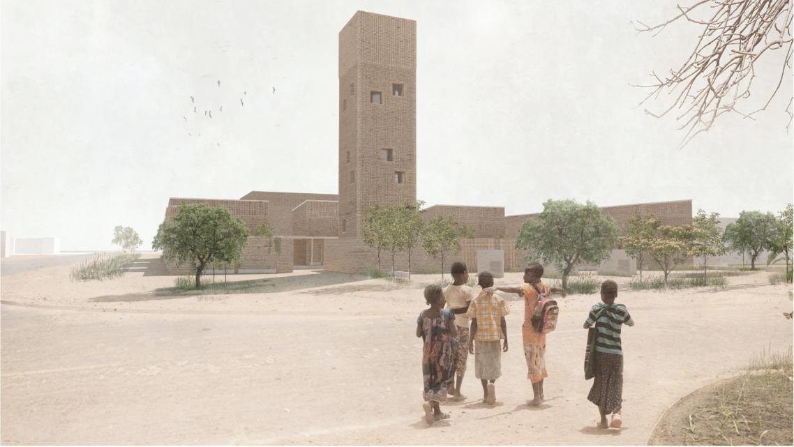 """""""Maison de la Paix et des Religions"""" Bangui, CAR ZAR Zentralafrikanische Republik Republique Centrafricaine"""