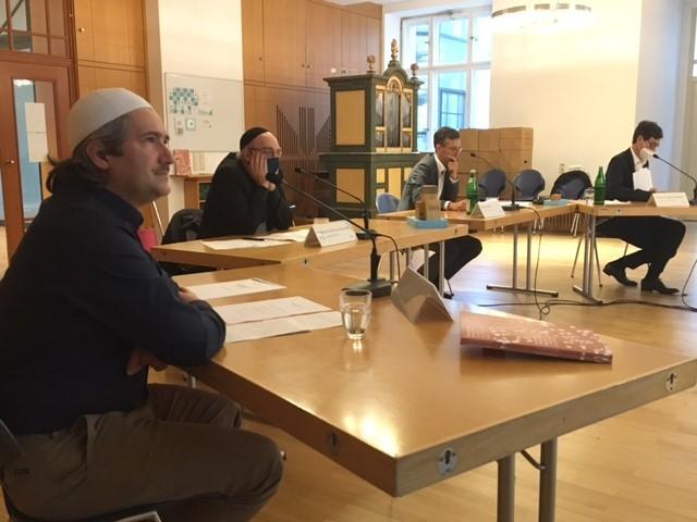 Imam Pfarrer Rabbiner Kadir Sanci Gregor Hohberg Andreas Nachama