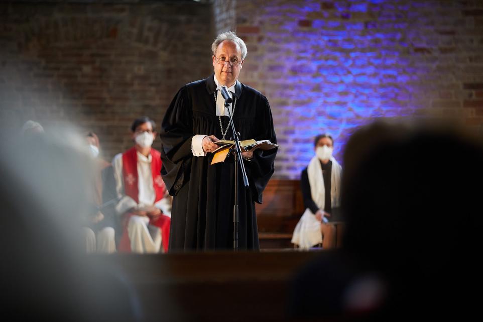 Bischof Christian Stäblein Friedensgebet 9/11 11. September peace prayer