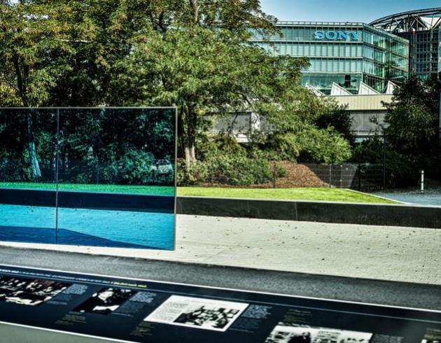 Gedenkstätte für Euthanasie Opfer im Berliner Tiergarten