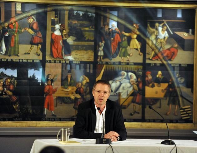 """Christian Lehnert, Autor des Libretto """"In wüstem Land ohne Weg"""", Uraufführung bei Chorint"""