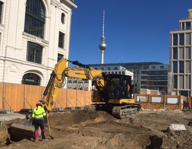 Archäologie Petriplatz Ausgrabung Claudia Melisch