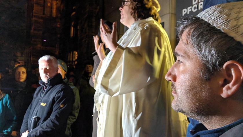 Rabbinerin Gesa Ederberg, Imam Kadir Sanci