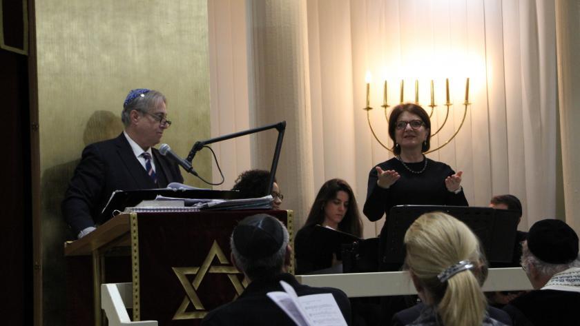 Synagoge Juden Chorfestival