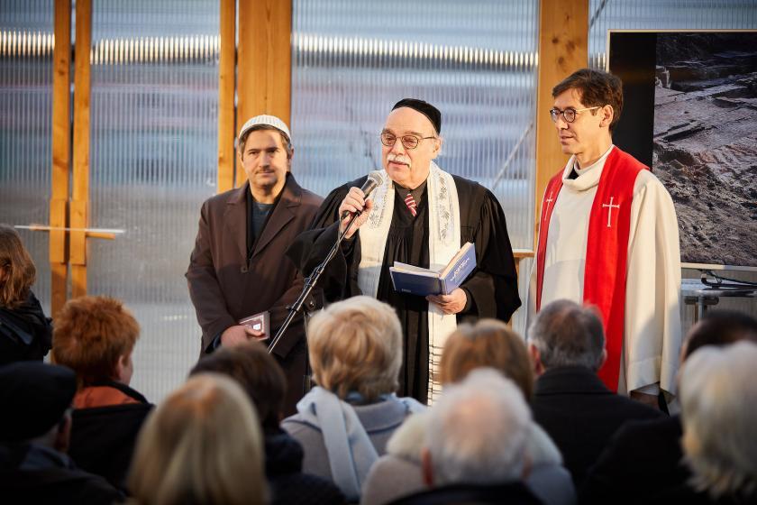 Imam, Rabbiner, Pfarrer, Interreligiöser Dialog, Antisemitismus, Islamfeindlichkeit